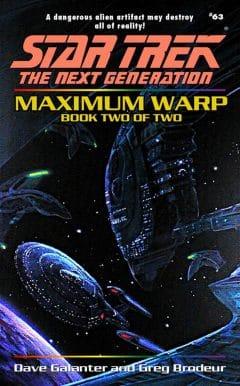 Star Trek: The Next Generation #63: Maximum Warp, Book Two: Forever Dark